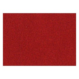 Velurový papír V10 tm. červený