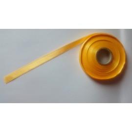 Saténová stuha š. 10 mm tm.žlutá 0942