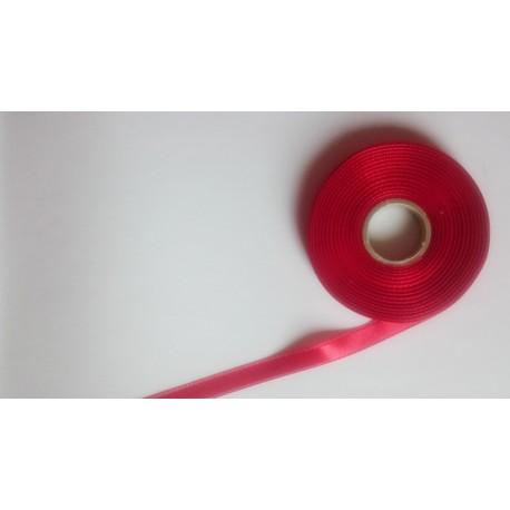 Saténová stuha š. 10 mm červená