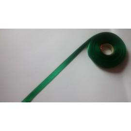 Saténová stuha š. 10 mm tm. zelená 6024