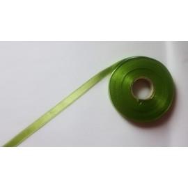 Saténová stuha š. 10 mm sv. zelená 0336
