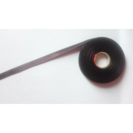 Saténová stuha š. 10 mm tm.hnědá 1111