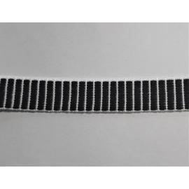 Tkanice modrobílá š. 16mm