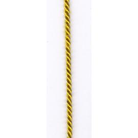 Šňůra stáčená 2,8mm zlatá